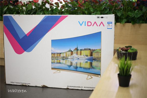 海信VIDAA V1电视测评图解