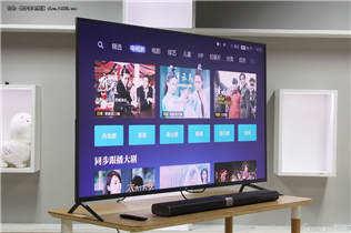 更薄更精细 小米电视3S 65英寸真机图赏