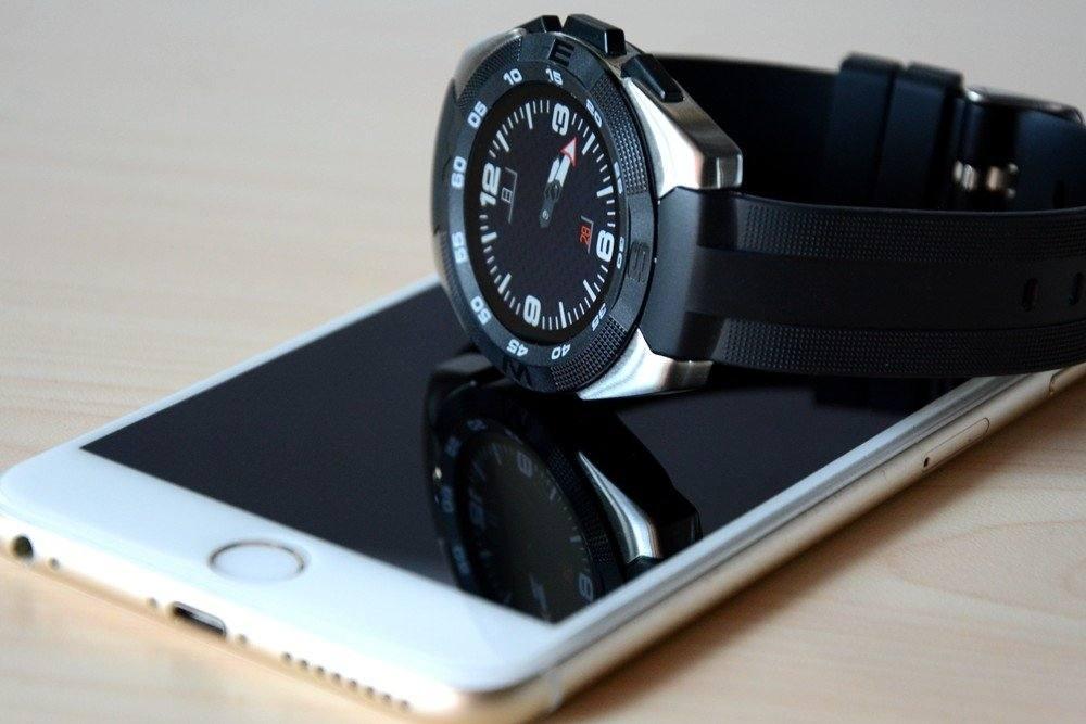 新时尚!韩国现代HY006智能手表精美图